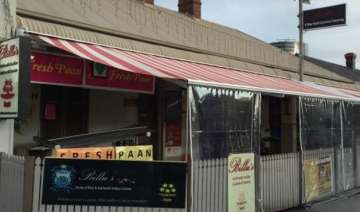 shot fired into busy indian restaurant in sydney...
