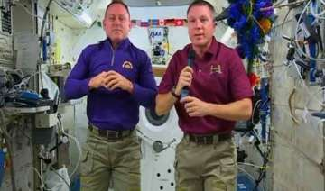 iss astronauts celebrate new year s eve 16 times...