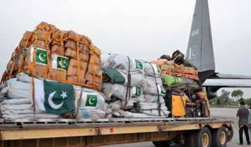 pak sends two planeloads of relief material to...