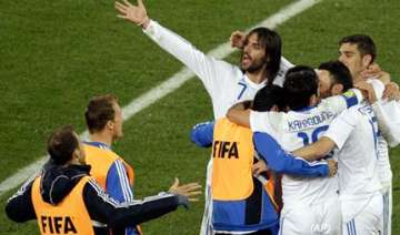 greece record historic world cup victory - India...