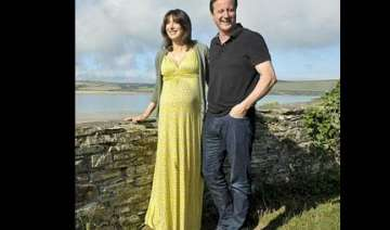 british pm s wife gives birth to baby girl...