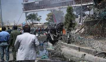 suicide car bomb near afghan capital s airport...