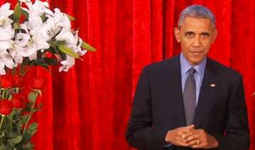 watch video barack obama woos wife michelle with...