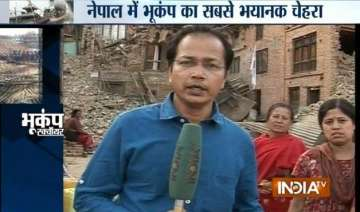 exclusive scores of nepal villages wear deserted...