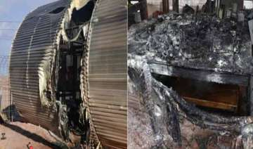 simulated mars mission gutted in fire - India TV
