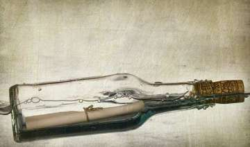 world s oldest message in a bottle found in...