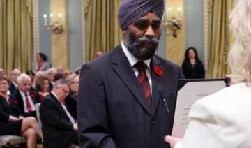 racist slur on sikh defence minister s accent...