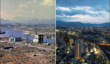 then now how hiroshima nagasaki look after 70...