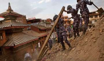 nepaldevastated survivors sleep in open for...
