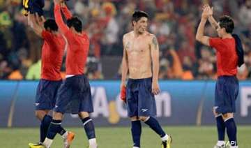 spain beats chile 2 1 at world cup - India TV