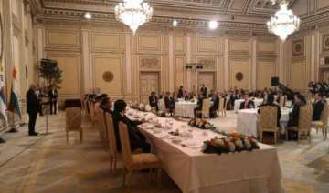 prime minister attends banquet dinner in south...