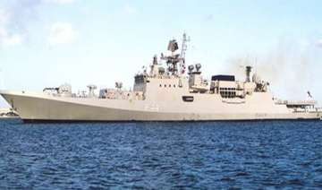 indian naval ship reaches egyptian port town -...