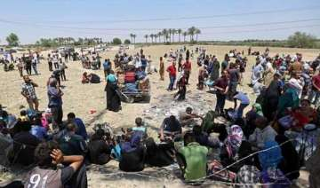 over 6 500 families displaced in iraq s ramadi...