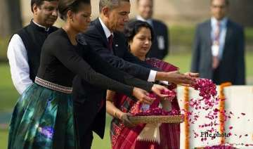 from raj ghat to taj mahal barack obama s delhi...