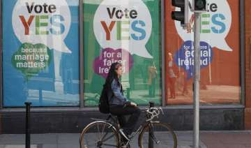 both sides say ireland has voted to legalize gay...