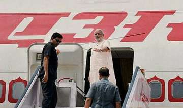 air india one develops problem standby sent to...