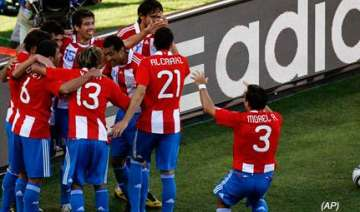 paraguay on brink of knockouts after slovakia win...