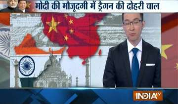 chinese media greets pm modi with wrong map of...