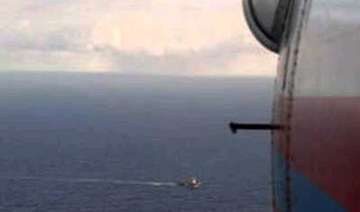 russian trawler with 132 crew sinks at least 43...