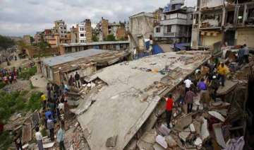 kathmandu valley rose 80 cm after quake shows...