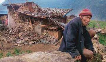 villagers in quake epicentre facing slow death...