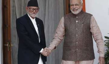 nepal pm came to know about earthquake from...