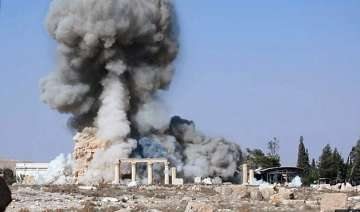 islamic state images purport to show destroyed...
