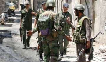 syrian army launches operation kills 60 militants...