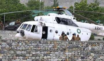 chopper crash foreign delegations in pak to take...