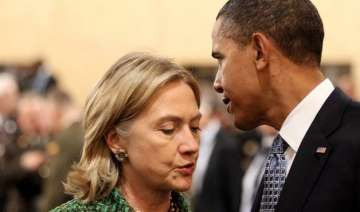 hillary clinton breaks with barack obama on...