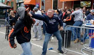 us town erupts into violence over black man s...