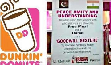 in goodwill gesture dunkin donuts in pak offers...