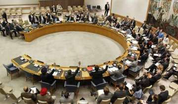 un calls for political transition to end syria...