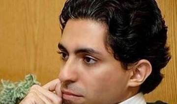 saudi blogger to be publicly given 1 000 lashes...