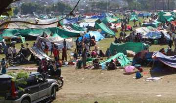 nepal govt renews its appeal for more tents food...