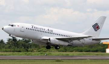 indonesian plane with 54 people on board missing...