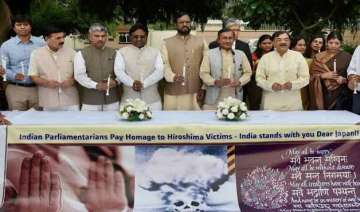 grateful to india for remembering hiroshima...