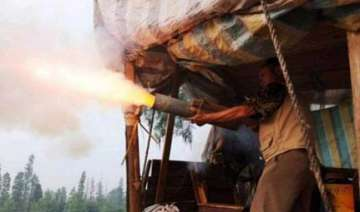 chinese farmer fires home made cannon to protect...