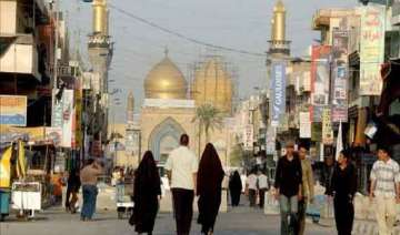 over 17 million shiites head to karbala to mark...