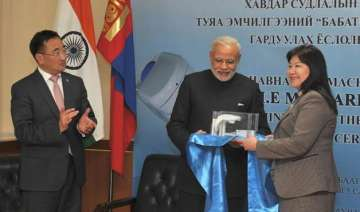 pm modi hands over bhabhatron to mongolia for...