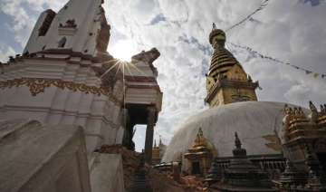 nepal quake damages world s oldest buddhist...