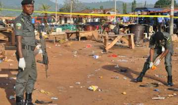 nigeria suicide bombers kill 40 including in 2...