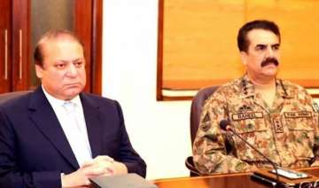 nawaz sharif army chief discuss afghanistan...