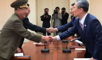 north south korea end marathon crisis talks -...