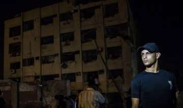blast near cairo security building injures six -...