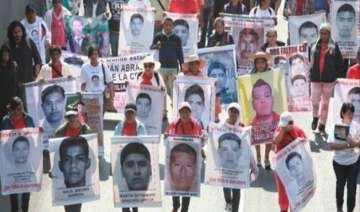 thousands demonstrate in mexico in remembrance of...