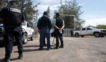 at least 40 killed in gun battle in mexico -...
