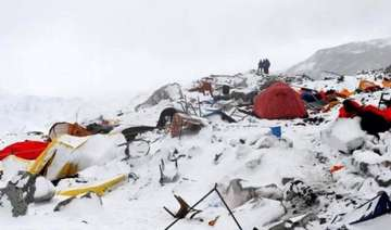 climbers safe on northern slope of mt everest...