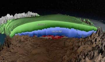nasa releases 3d view of greenland ice sheet -...