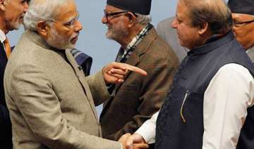 india pakistan talks only if bjp voted out...